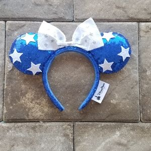 Minnie mouse patriotic ears